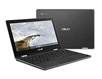 """ASUS Chromebook Flip C214MA-YS02T 11.6"""" Ruggedized and Water Resistant Chromebook 360 Touchscreen Convertible Intel N4000 4GB DDR4 RAM 32GB Storage Mil STD design Chrome OS"""
