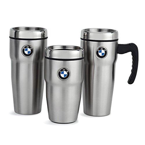 BMW Insulated 12oz. Travel Mug - Stainless Steel Finish