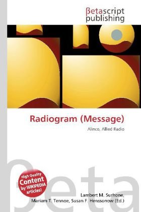 Radiogram (Message): Alinco, Allied Radio
