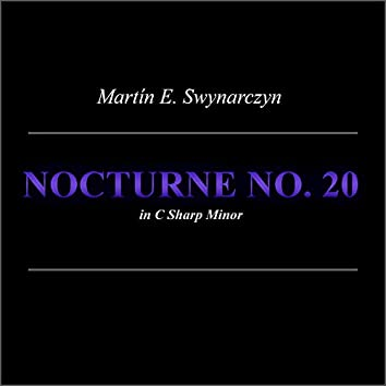 Nocturne No. 20 In C Sharp Minor (Cover)