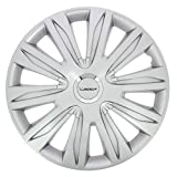 Michelin 009109 Boite 4 Enjoliveurs 14' NVS 42 Chrome