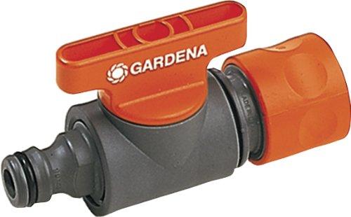 Gardena Regulierventil: Ventil zur Regulierung und Absperrung des Wasserdurchflusses eines Schlauches am Abgang eines Y-Stücks, ideal zur Reichweitenbestimmung eines Regners, verpackt (2977-20)