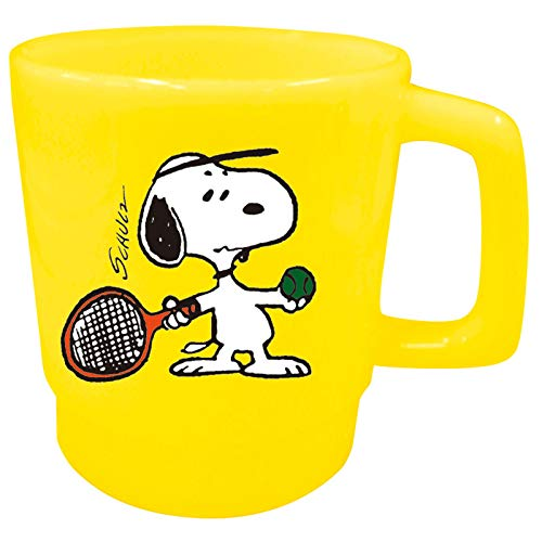 Ohnishi Ken Manufacturing Peanuts Snoopy Tazza in plastica (Tennis) 350ml PA-522