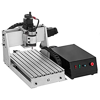 VEVOR CNC Router 3020 3 Axis CNC Router Machine 300x200mm CNC Router Kit 200W MACH3 Control Large 3D Engraving Machine CNC Router Kit with USB 3020 3 Axis with USB