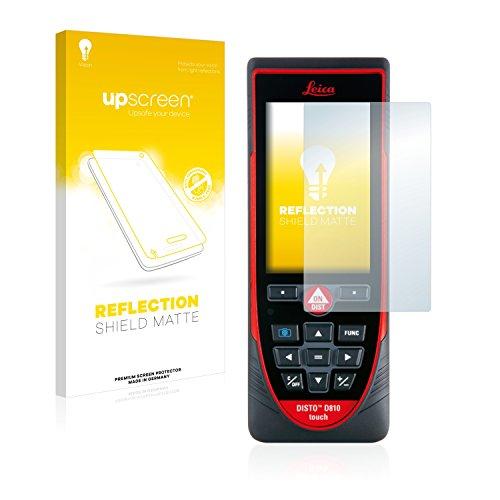 upscreen Entspiegelungs-Schutzfolie kompatibel mit Leica DISTO D810 Touch – Anti-Reflex Displayschutz-Folie Matt