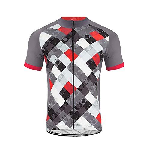 Uglyfrog 2020 Verano Maillot Ciclismo Hombre Verano Maillot Bicicleta Montaña Bike MTB Camiseta con Mangas Cortas DXML02