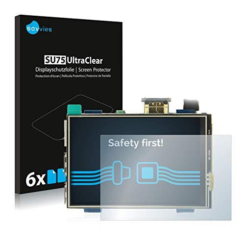 savvies Protector Pantalla Compatible con Raspberry Pi Touchscreen (3.5