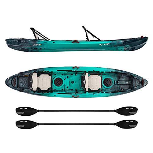 Vibe Kayaks Yellowfin 130T 13 Foot Tandem Angler...