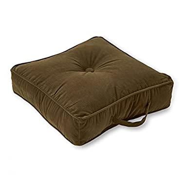 Greendale Home Fashions Square Floor Pillow, 20-Inch, Sage