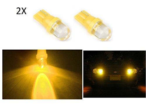 2 x luz de posición amarillo YELLOW Bombilla LED 12 V coche T10 6000 k, W5W luz car