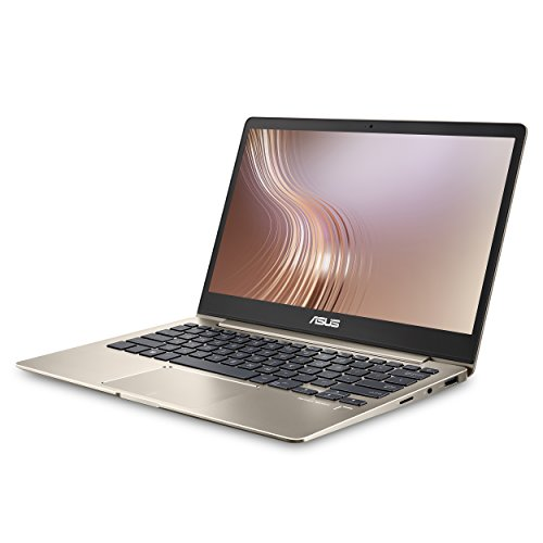 "ASUS ZenBook 13 UX331UA Ultra-Slim Laptop 13.3"" Full HD WideView Display, 8th gen Intel Core i7-8550U Processor, 8GB LPDDR3, 256GB SSD, Windows 10, Backlit Keyboard, Fingerprint, Icicle Gold"