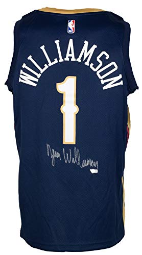 Zion Williamson Signed New Orleans Swingman Authentic NBA Jersey Fanatics
