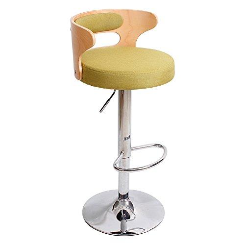 Ali@ Faux lederen barkrukken PU lederen Executive stoel Home Office gebruik, volledig verstelbare hoogte, 360 graden draaibaar, hoogte verstelbaar 60 tot 80 cm