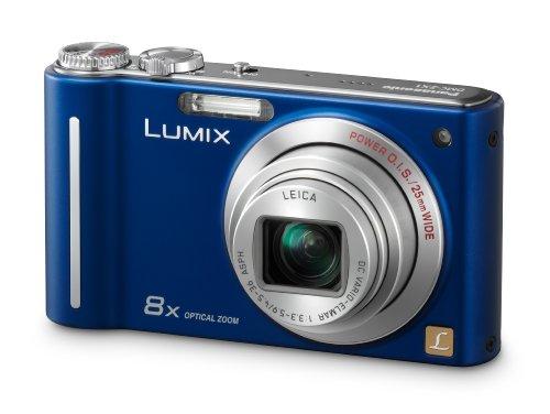 Panasonic LUMIX DMC-ZX1 Digitalkamera EG-A (12 Megapixel, 8-fach opt. Zoom, 6,9 cm (2,7 Zoll) Display, Bildstabilisator) aktivblau