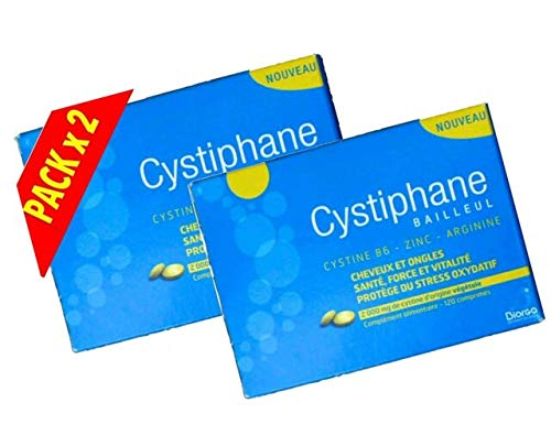 Cystiphane Hair And Nails - Pack 2 x 120 Tablets by Biorga