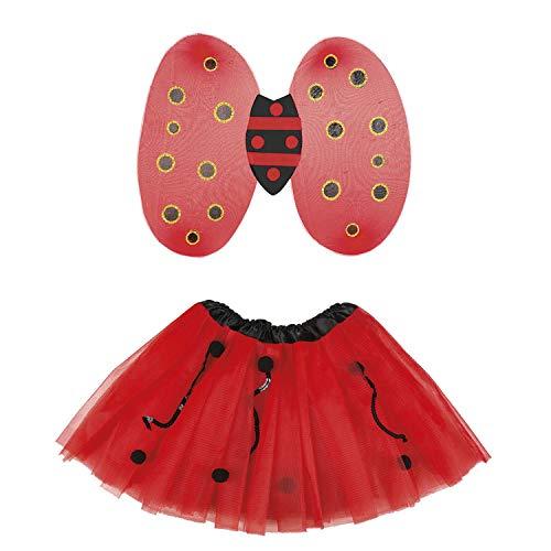 Ladybug kostuum set voor kinderen