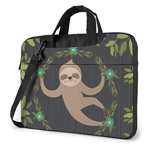 Sloth Laptop Bag Messenger Bag Briefcase Satchel Shoulder Crossbody Sling Working Bag 14 Inch