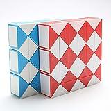 YXLM Variedad Magic Ruler Demon King 36 segmentos Grandes Kindergarten Juguetes educativos para niños Rubik'S Cube,Pink