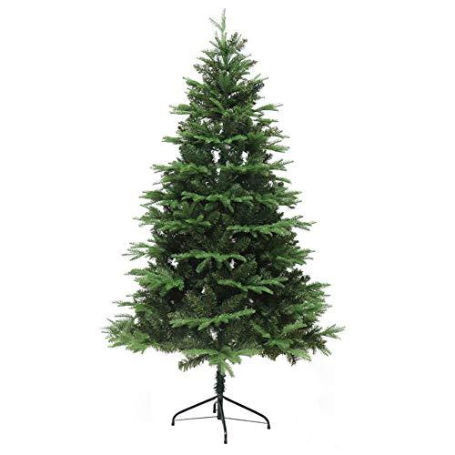 EREAL 180cm Premium PE-PVC árbol De Navidad 673 Cabeza Cifrada árbol De Navidad-Verde