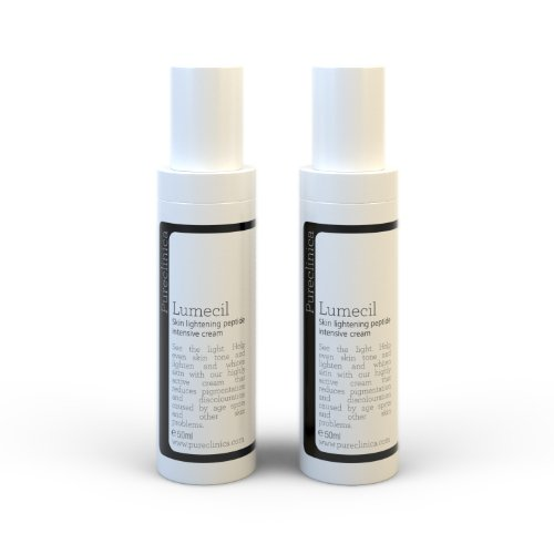 Lumecil Skin Lightening Cream 50ml x 3 bottles. From brown to white with the most effective and No.1 rated skin whitening solution. Achieve many shades lighter/whiter. SKU: LSRx3
