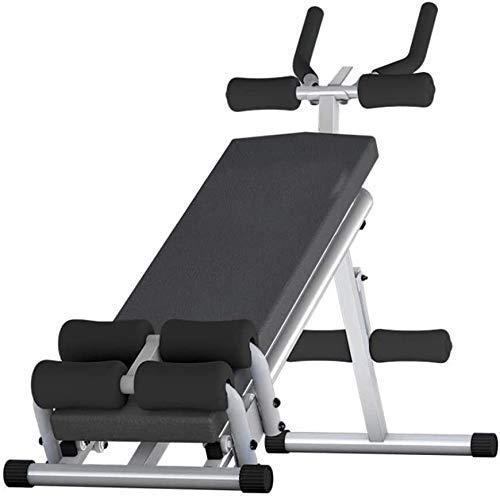 Banco de pesas con mancuernas Banco de pesas ajustable Banco de pesas ajustable 2 en 1 Banco de pesas abdominales Equipo auxiliar de fitness Tabla de decúbito en el hogar Banco con mancuernas Músculos