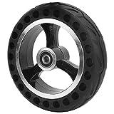 VGEBY Neumático de Scooter, neumático sólido de 200 x 50 Que Absorbe los Golpes, Rueda de Scooter eléctrica a Prueba de explosiones para vehículos eléctricos, neumático de Repuesto