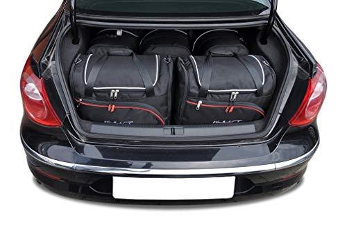 KJUST Dedizierte Reisetaschen 5 STK kompatibel mit VW Passat CC I 2008 - 2011