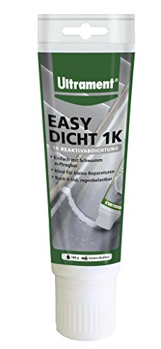 Ultrament Easy Dicht 1 K g Reaktivabdichtung Abdichtung 180 g, Außenabdichtung einkomponentig Neuheit