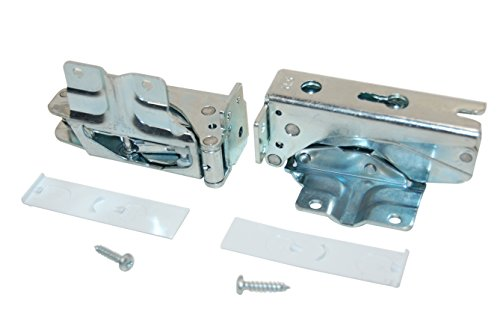 Kit original de bisagras para puerta de congelador/frigorífico Bosch. 481147PACK de 2.