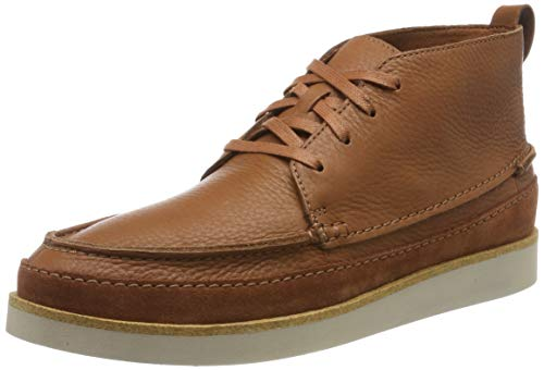 Clarks Herren Ashridge Craft Klassische Stiefel Kurzschaft Stiefel, Braun (Tan Leather), 44.5 EU