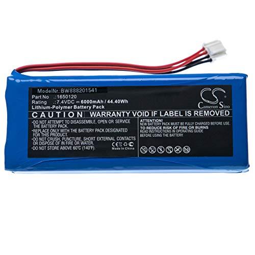 vhbw Batería Recargable Compatible con dji Phantom 4 Pro, Pro+, el Mando de su dron (6000mAh, 7,4V, polímero de Litio)