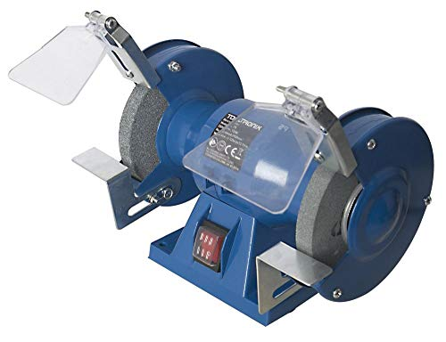 ToolTronix Bench Grinder 150W 5' 125mm Twin Grinding Stone...