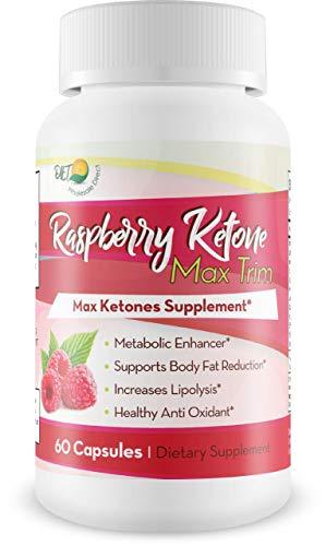 Raspberry Ketone Max Trim - Max Ketones Supplement - Lose Weight - Boost Ketones - Raspberry Ketones Weight Loss - Trim Max with Raspberry Ketone Max Trim