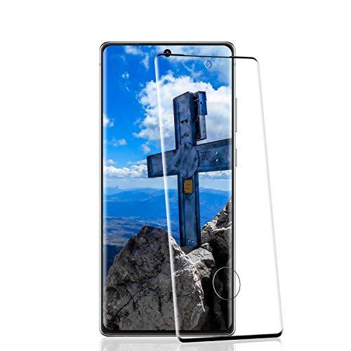 RIIMUHIR Protezioni per Lo Schermo per Samsung Galaxy Note 20 [2 Pezzi], Pellicola Vetro Temperato 9H Durezza, Protettiva in Vetro Temperato per Samsung Galaxy Note 20 [9D Copertura Completa]