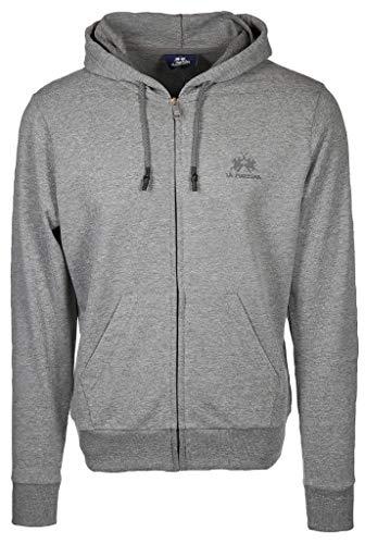 La Martina - Herren-Sweatshirt Regular fit, Mittleres Erikagrau, Man