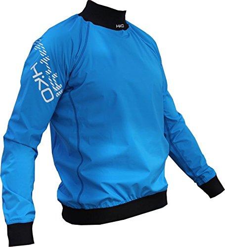 Paddeljacke Zephyr lang Hiko leicht Kanu Kajak SUP Touren Training Wettkampf, Farbe:blau;Größe:L