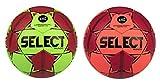 SELECT Ballon DE Handball Mundo 2020-22 Green/Red (Taille 3)