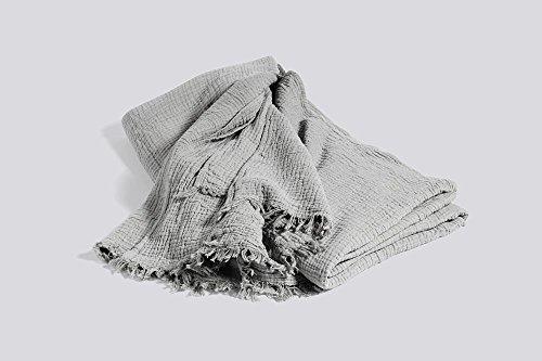 HAY - Tagesdecke Crinkle - grau - Design - Decke