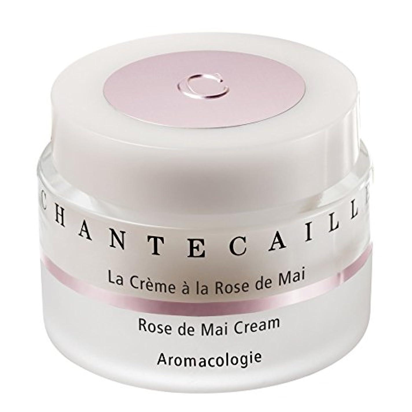 砂の通知する夜Chantecaille La Creme a la Rose de Mai Moisturiser 50ml - シャンテカイユラクリームア?ラ?ローズ?ド?舞保湿50ミリリットル [並行輸入品]