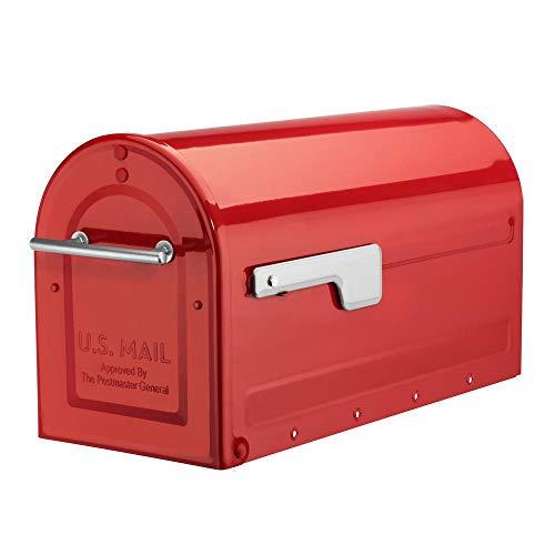 Architectural Mailboxes 7900-7R-SR Boulder Mailbox, Red