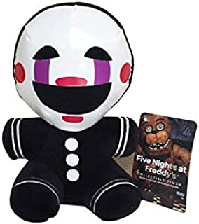 ForteGlo FNAF 18cm Five Nights at Freddy's 4 FNAF Nightmare Marionette Stuffed Plush Toys Soft Toy Doll for Kids Children Gifts 1 PCs