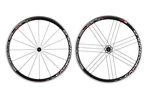 Campagnolo Scirocco 35 CX - Roue vélo de Route - Fil métallique, HG11, Paire de Roues Noir 2016 Roue vélo Route