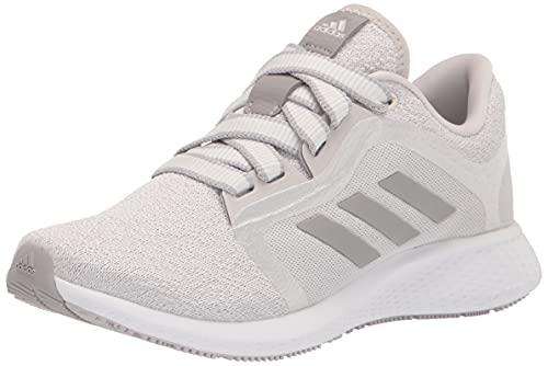 adidas Women's Edge Lux 4 Running Shoe, Grey/Grey/White, 8