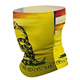 Dont Tread On Me American Flag Face Mask for Dust Wind...