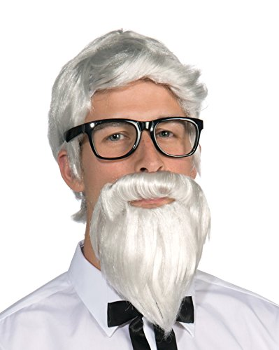 Forum Novelties mens Forum Southern Colonel and Beard Costume Wig,...