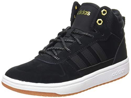 adidas Unisex-Kinder BLIZZARE K Basketballschuh, Core Black/Core Black/Matte Gold, 35 EU