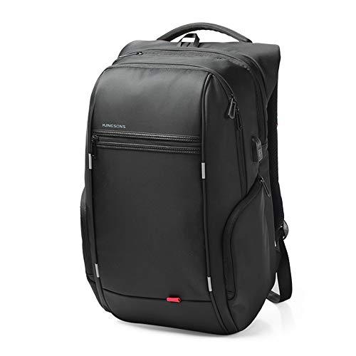 Kingsons Mochila con USB Puerto de Carga Business Laptop Backpack para Hombres y Mujeres