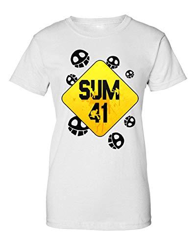 Wicked Design Sum 41 Logo T-Shirt da Donna XX-Large