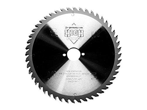 HM–Hoja de sierra circular New Generation 210x 2,8x 30mm con Cambio de 48dientes Low Noise
