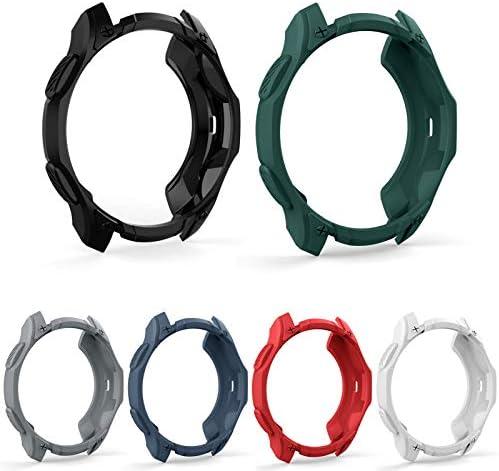 6 Packs Case Compatible Samsung Galaxy Watch...